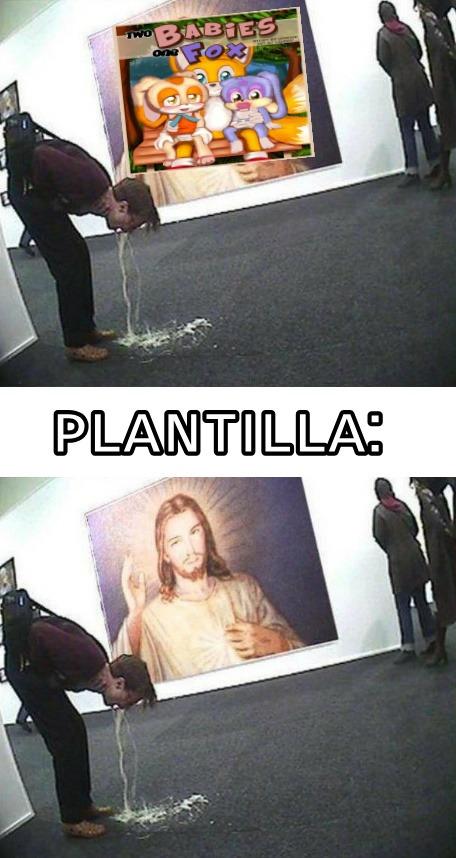 Plantilla quemable? - meme
