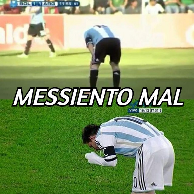 Messi Vomitando xD - meme