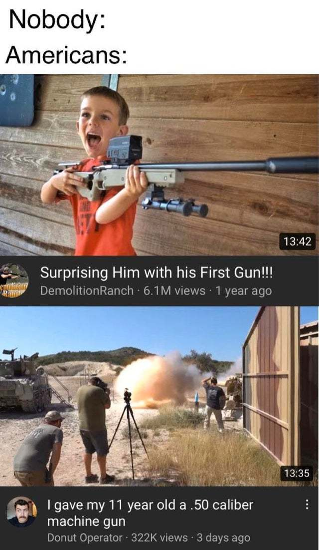 God bless America - meme