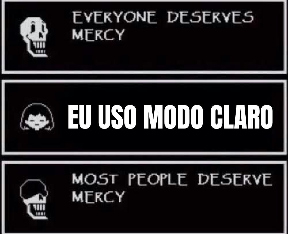 Se você usa você é um monstro - meme