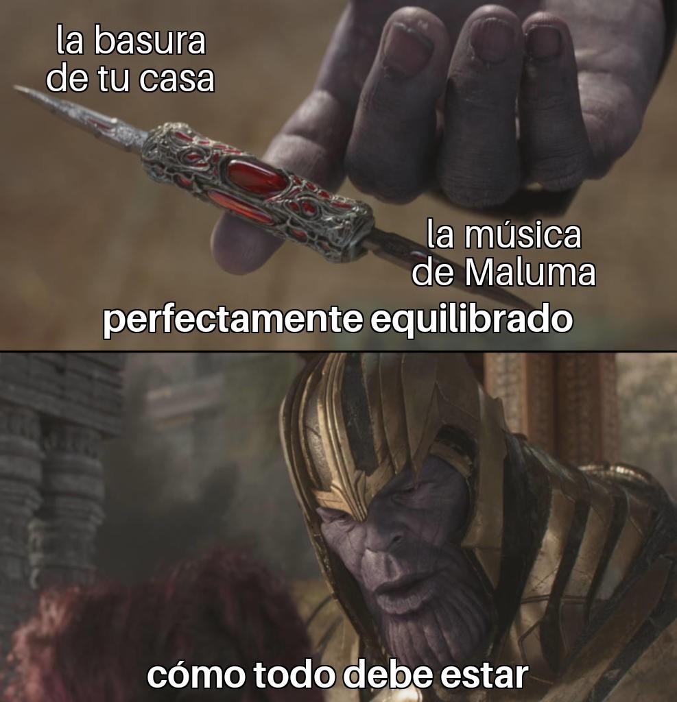 Maluma es un HDP - meme