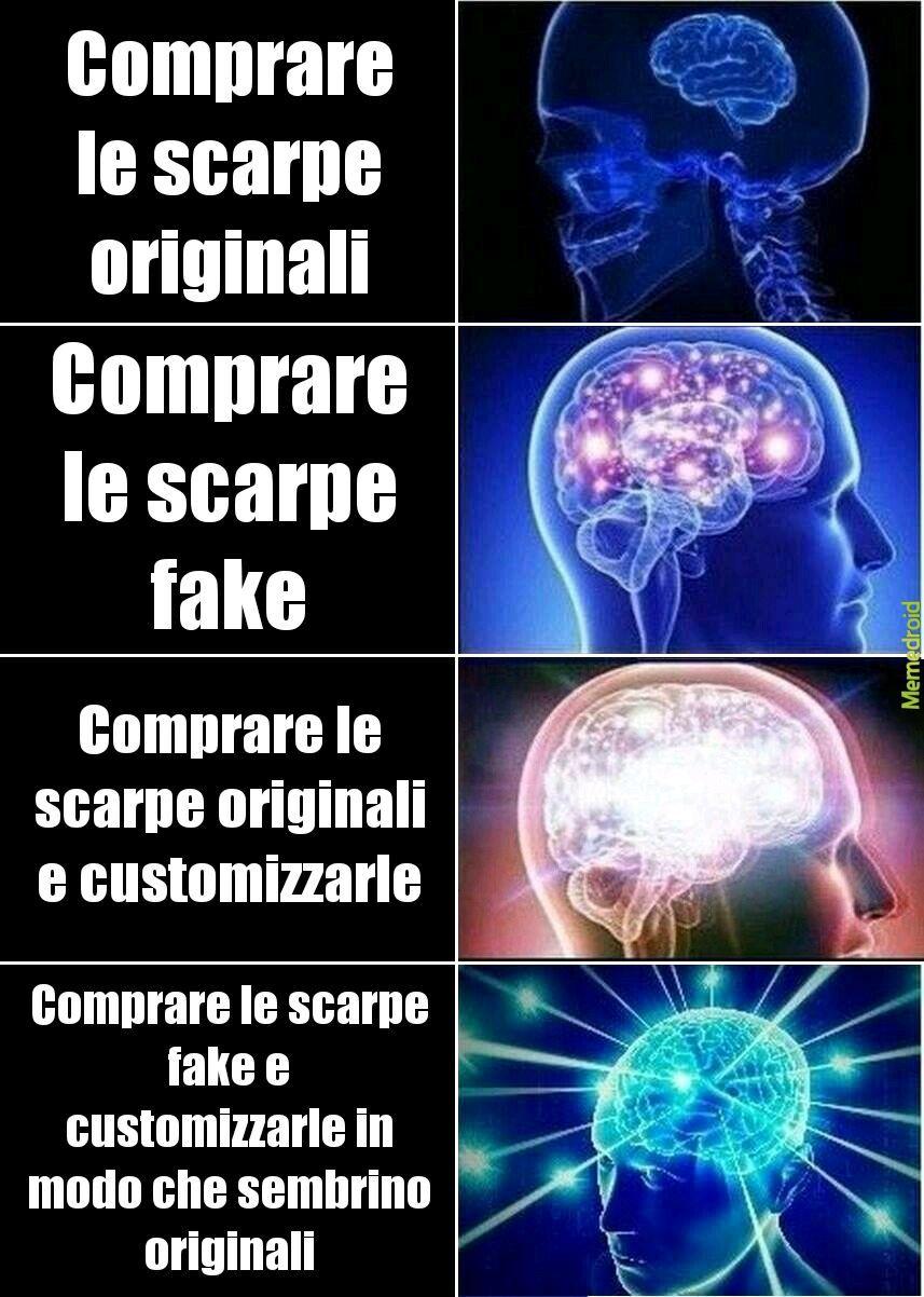 Scarpe originali - meme