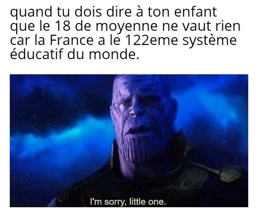 En fait tu es nul ! - meme