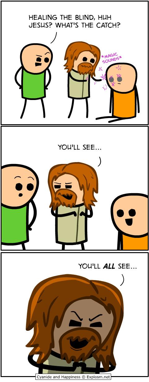 Not mine, but JESUS - meme