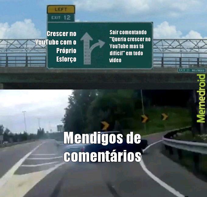 Mendigagem deplorável - meme
