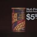 Nut free salted peanuts