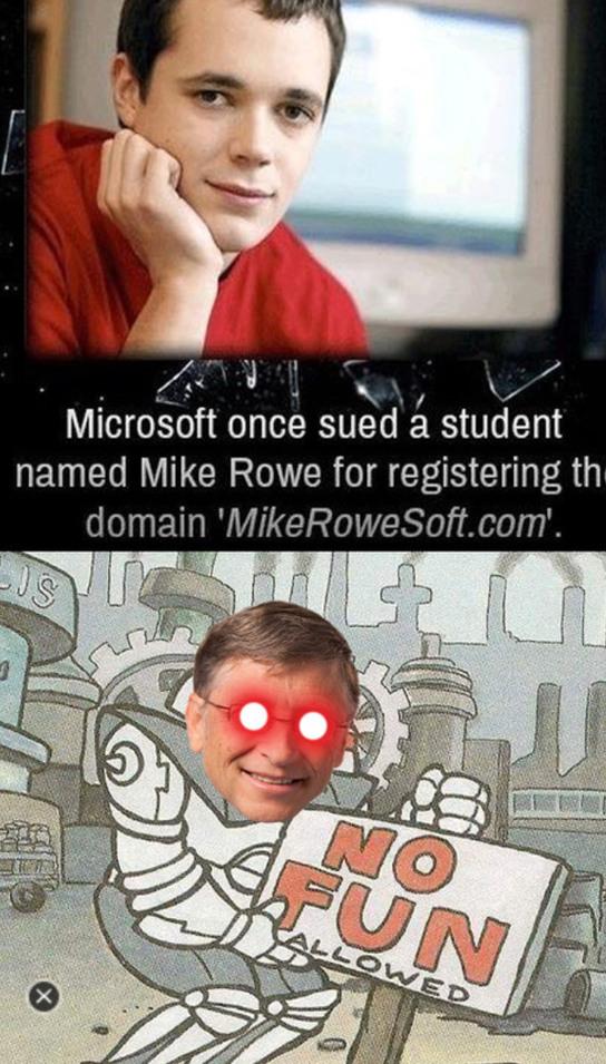 Bill Gates, the penny-pincher - meme