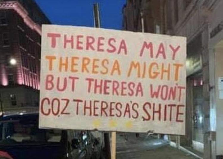 Brexit means exit - meme