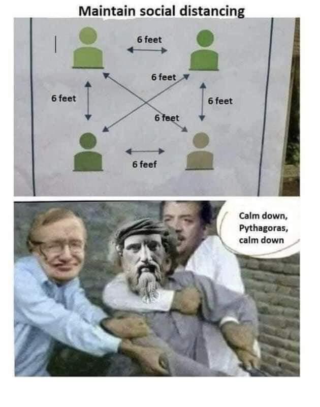 Covidian Geometry - meme