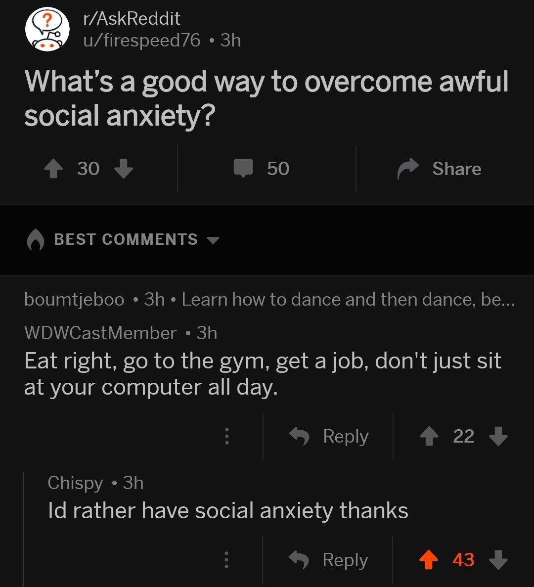 social anxiety - meme