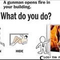 to open fire you must close fire
