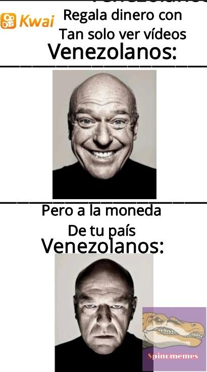 Pobres venezolanos - meme