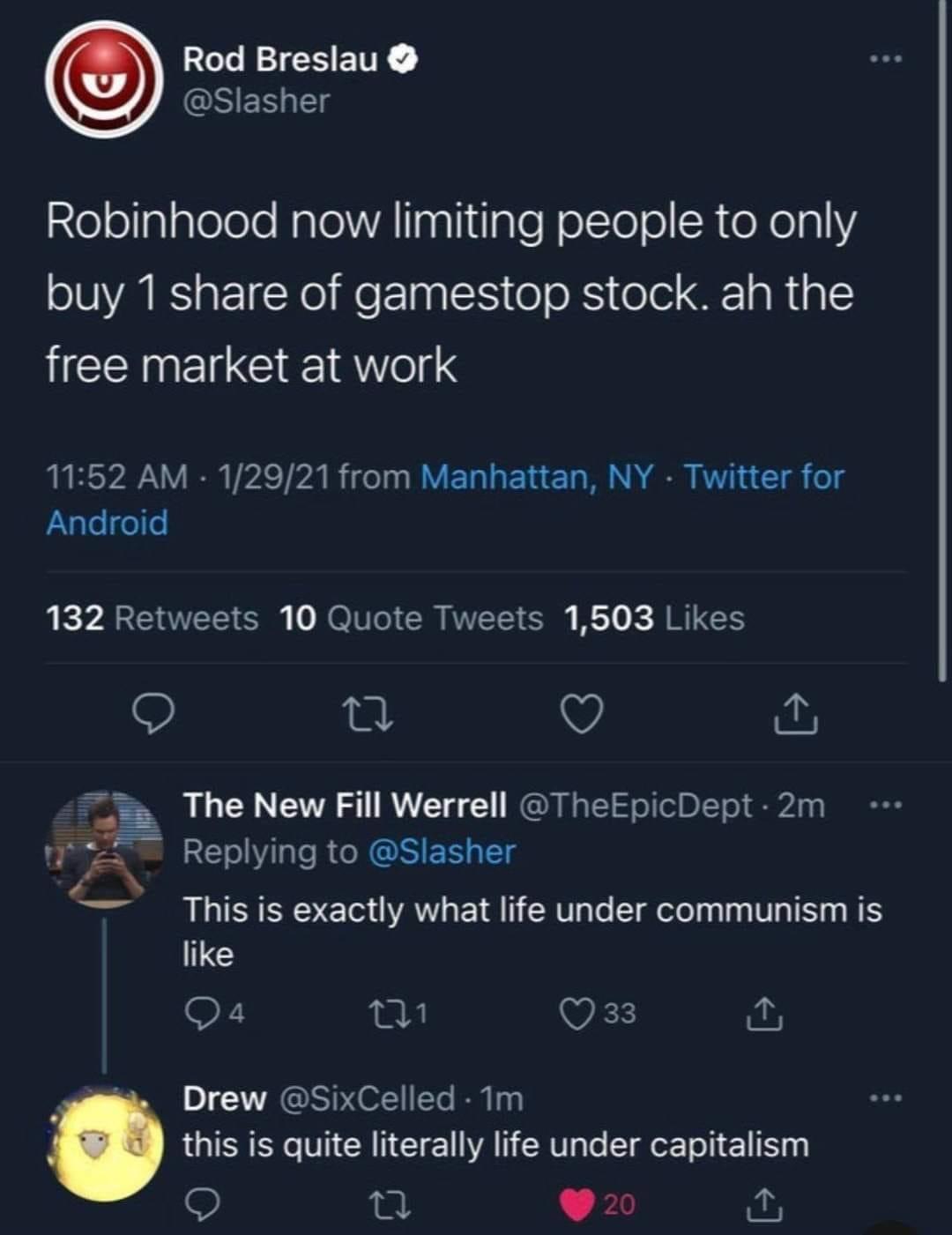 capitalists trying to explain communism, but just end up explaining capitalism - meme