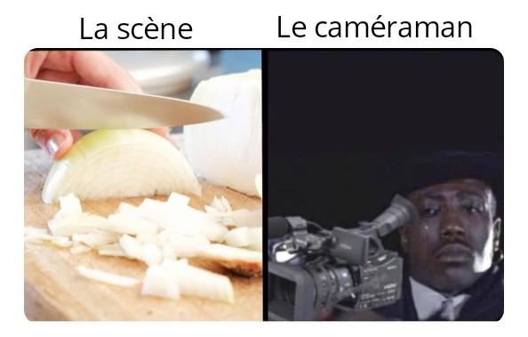 Behind the scene - meme