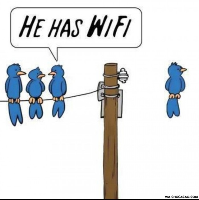 Il a la wifi ! - meme
