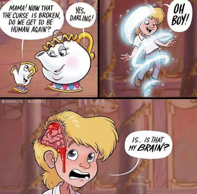 La magie de Disney ❤ - meme