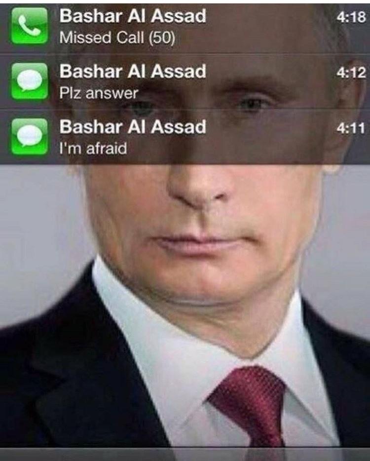 poor Syria - meme