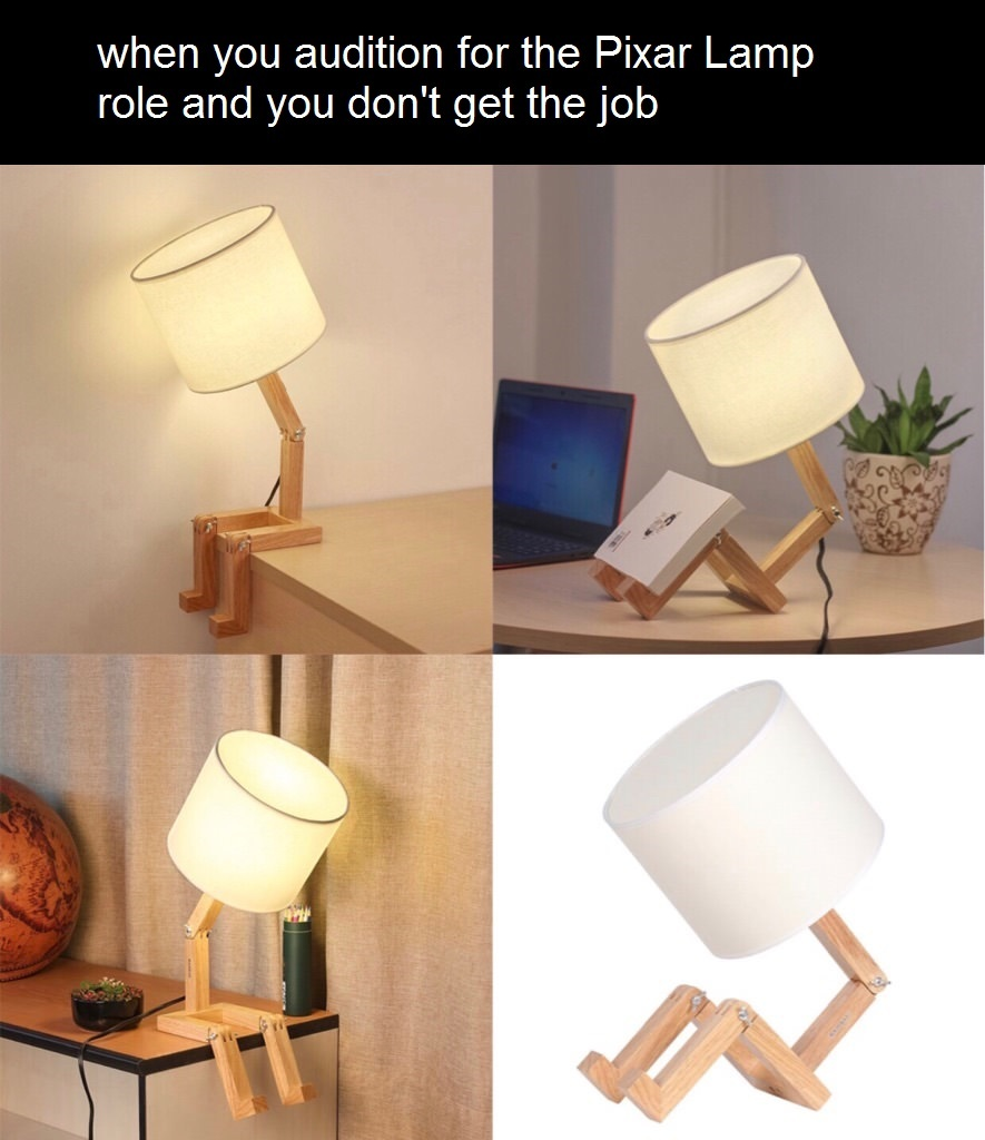 That dang lamp - meme