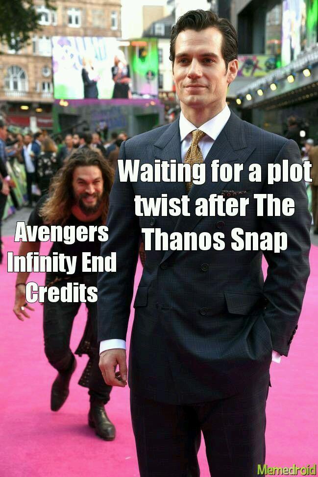 Avengers I - meme