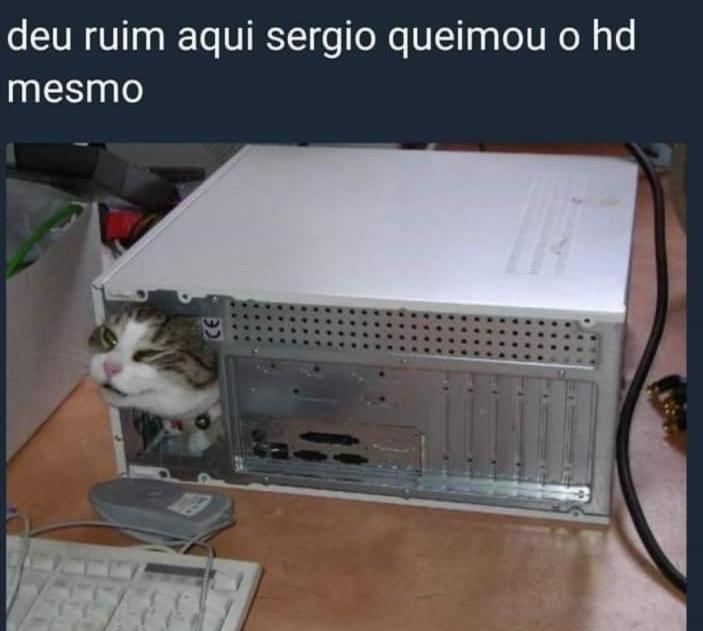 Pô Sérgio - meme