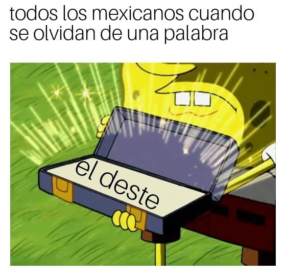 Solo mexicanos plz - meme