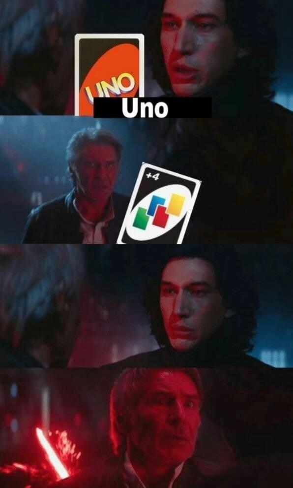 Kylo Ren fue lo único bueno de esa trilogía - meme