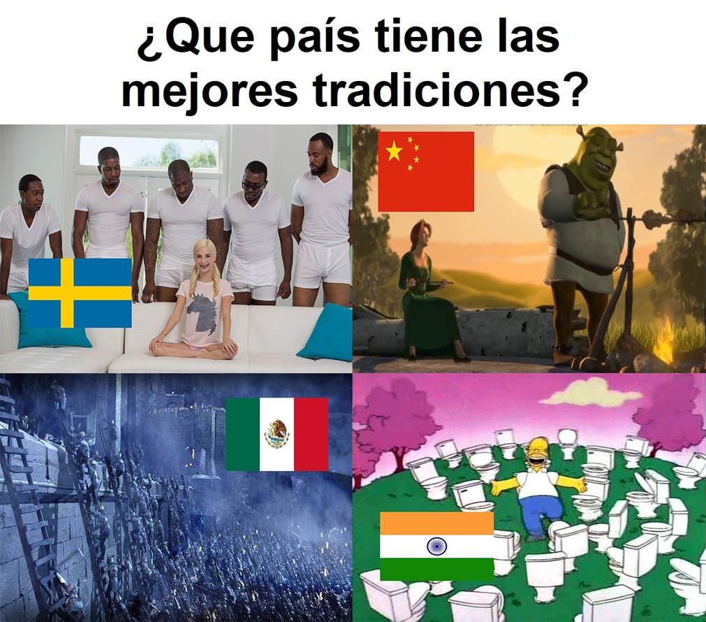 lo de Suecia se llama enriquecimiento cultural - meme