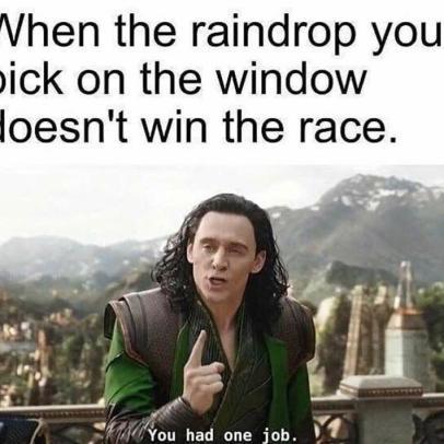 raindrop - meme
