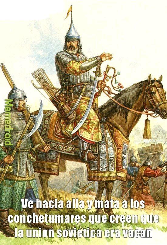 The chad rusia de los zares vs the virgin union sovietica - meme