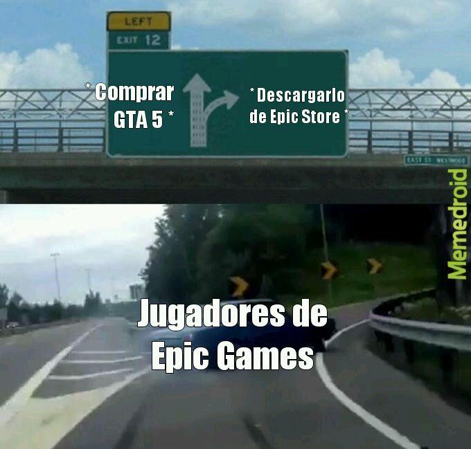 Así murió GTA 5 - meme