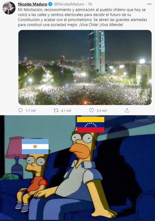 bienvenidos chilenos al club de las republicas bananeras - meme