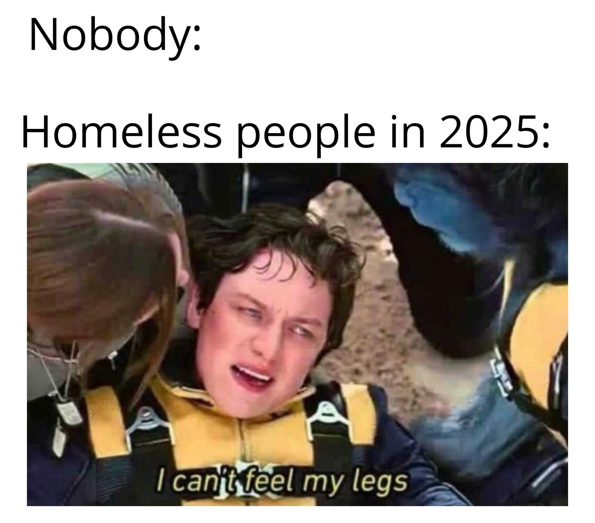 the homeless soon to be extinct - meme
