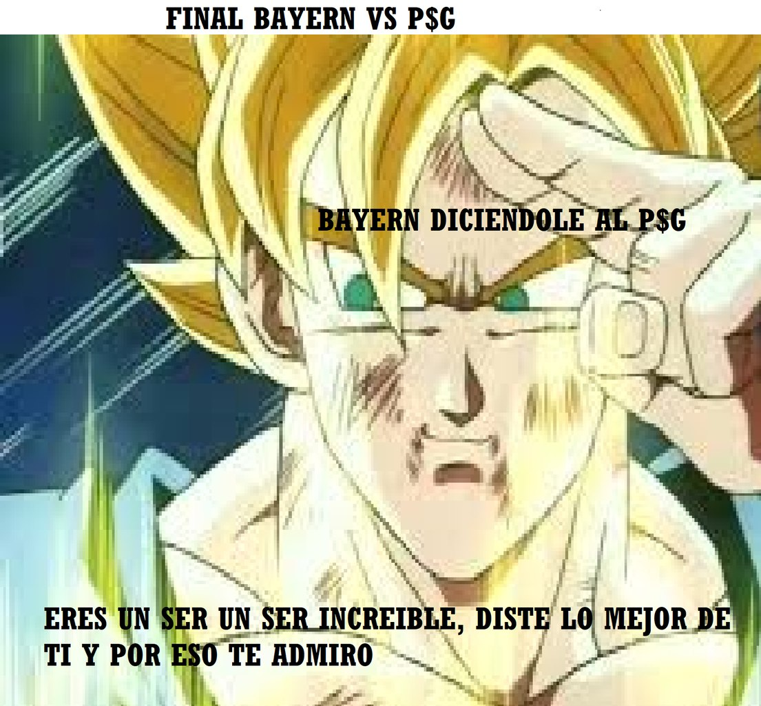 BAYERN CAMPEON DE LA CHAMPIONS LEAGUE 2019-2020 - meme