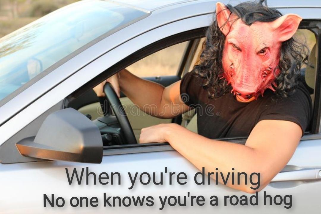 People driving - meme