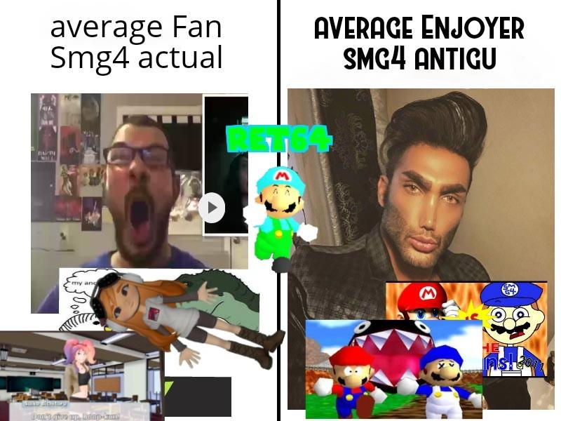 Aprendiendo a hacer super Mario 64 machinimas.....pd:cual vídeo del smg4 os gusta más? - meme