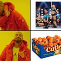 Wait, it's all cuties?