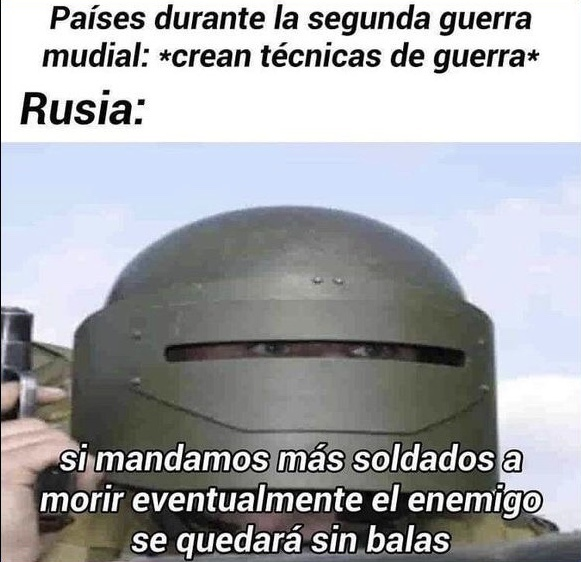 Putos rusos - meme