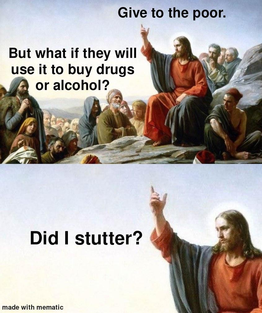 Drugs for all! - meme