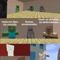 Sim, meme de Minecraft pq ele é melhor que free fire