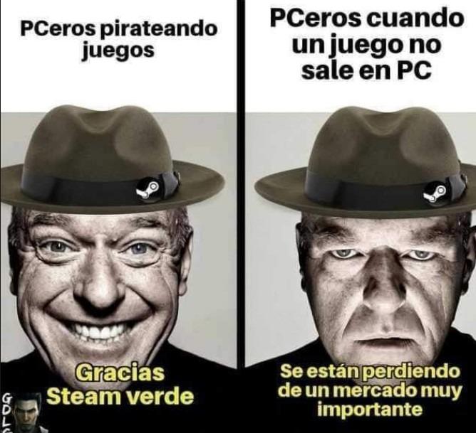 c Steam verde - meme
