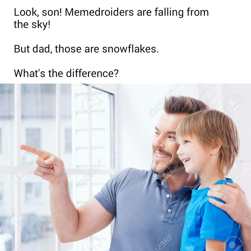 Buncha snowflakes - meme