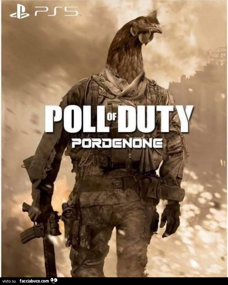 Prossimamente su PS5... POLL OF DUTY - meme