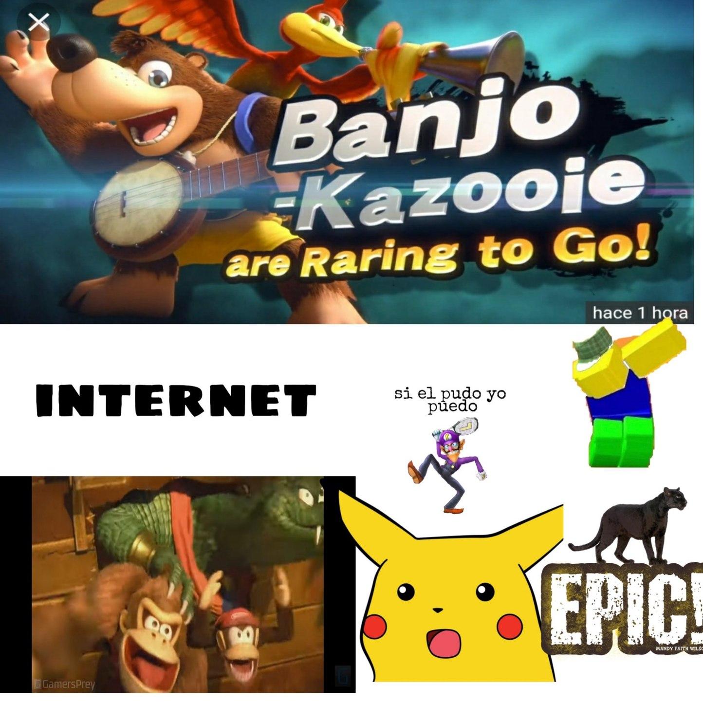 Banjo y kazooie - meme