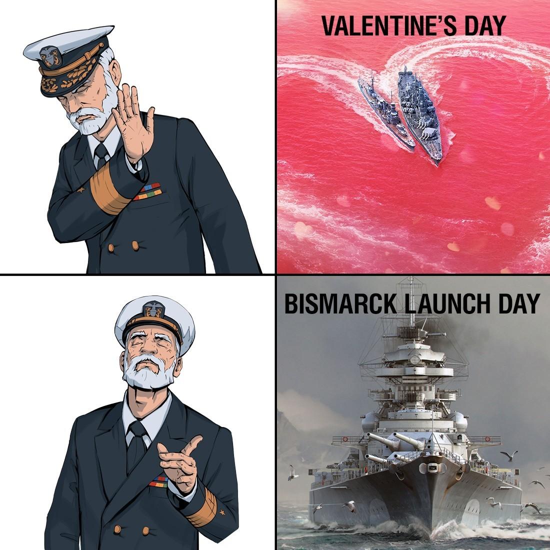 The order of priorities - meme