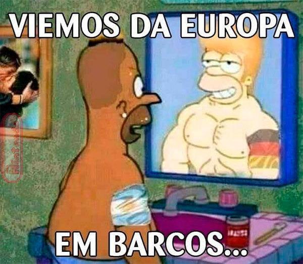 Vieram da cracolandia da europa - meme