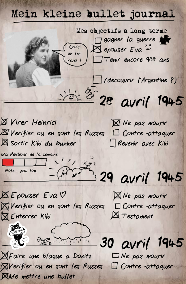 Le bullet journal de tonton Adolf - meme