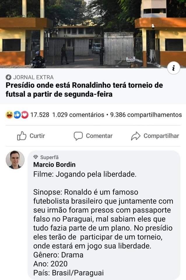 R10 é inocente, ele não sabia que não era paraguaio.... - meme