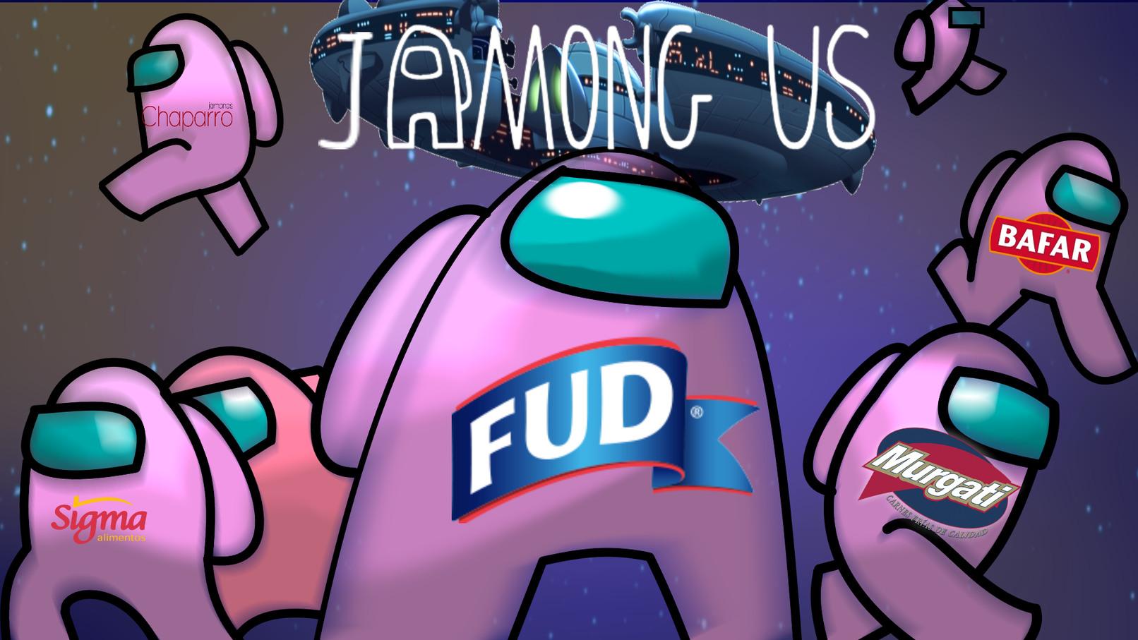 De los creadores de Amongolos... Llega... Jamong Us (tarde un rato en hacer esto) - meme