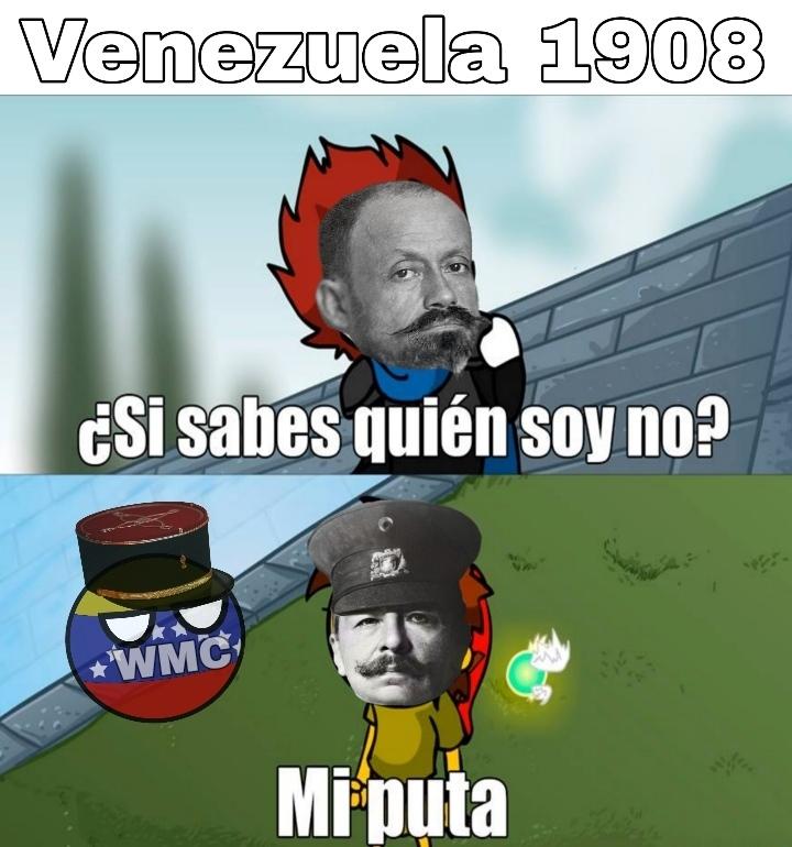 Meme histórico sobre una transición poco democrática