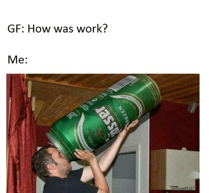 Work do be like that sometimes - meme